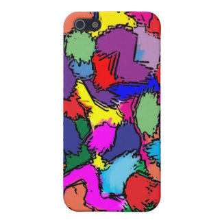 Blotches by Colortude iPhone 5/5S Cover
