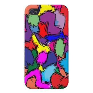 Blotches by Colortude iPhone 4/4S Cases