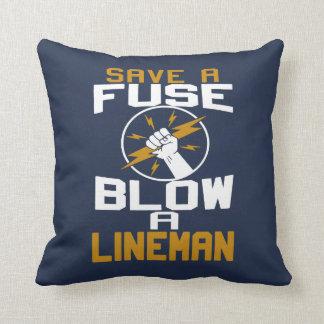 Blow a Lineman Cushion