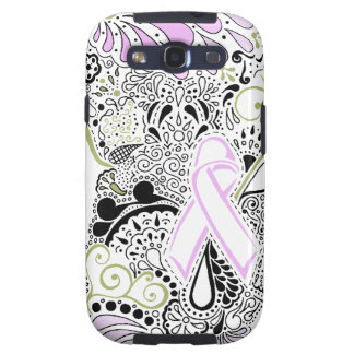 Blow Away Breast Cancer Samsung Galaxy S3 Cover