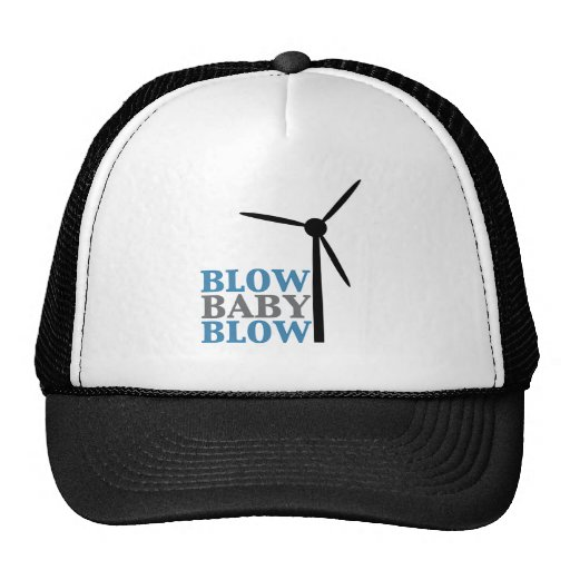 blow baby blow (wind energy) hat