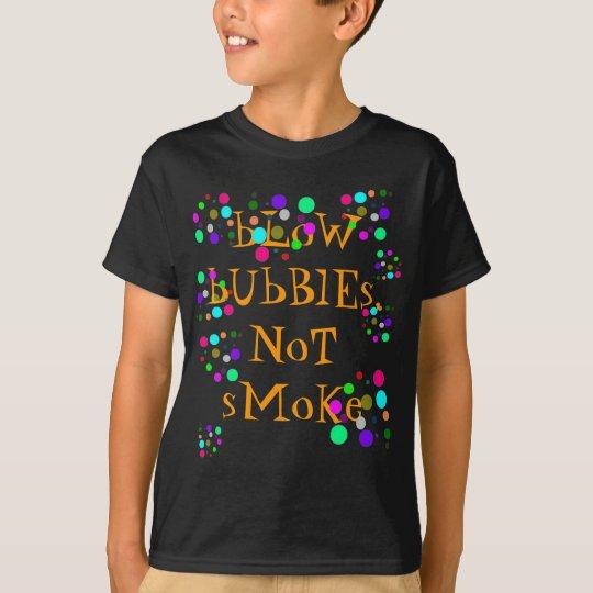 Blow Bubbles Black Shirt
