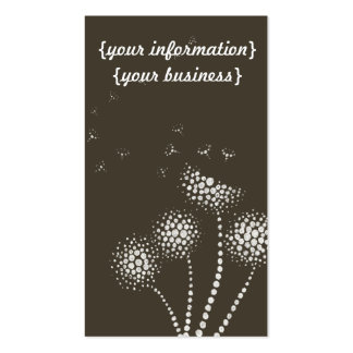blow em away with blowing flowers pack of standard business cards