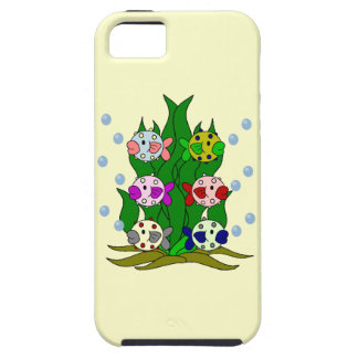 Blow-fish Family in the Seawee iPhone 5 Cases