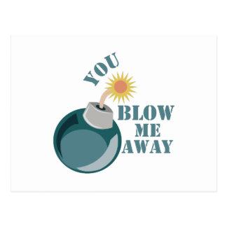 Blow Me Away Postcard