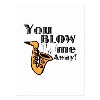Blow Me Away Post Cards