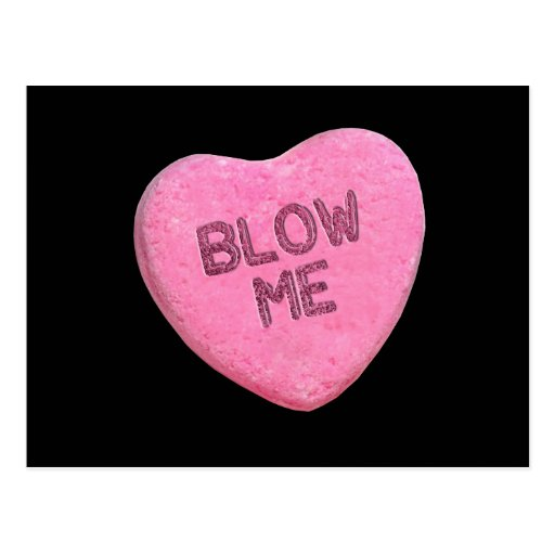 BLOW ME CANDY -.png Postcard