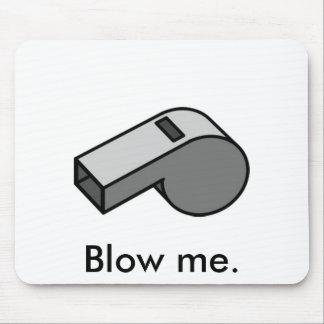 Blow me mouse pad