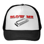 Blow Me = Mouth Organ or Harmonica Cap