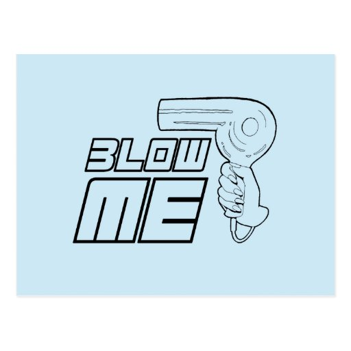 BLOW ME POST CARDS