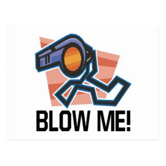 Blow Me Postcard