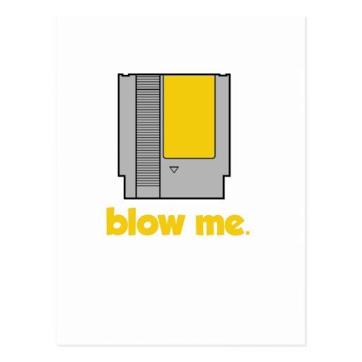 Blow Me Postcards