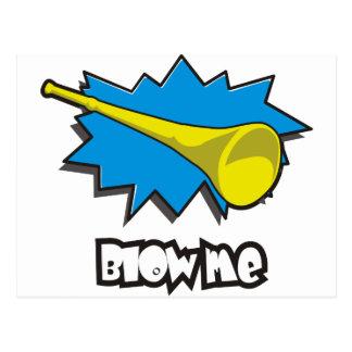 Blow ME (vuvuzela) Postcard