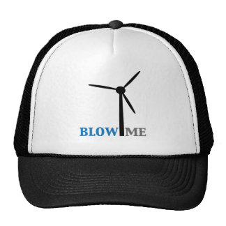 blow me wind turbine cap