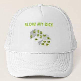BLOW MY DICE TRUCKER HAT