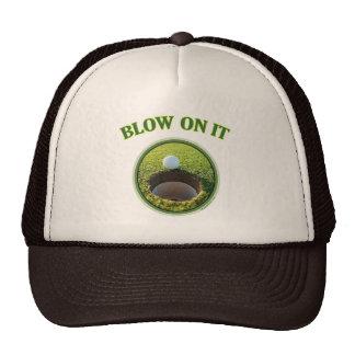 Blow On It Golf Cap