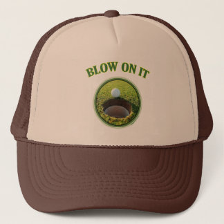 Blow On It Golf Trucker Hat