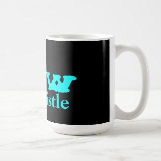 blow the whistle basic white mug