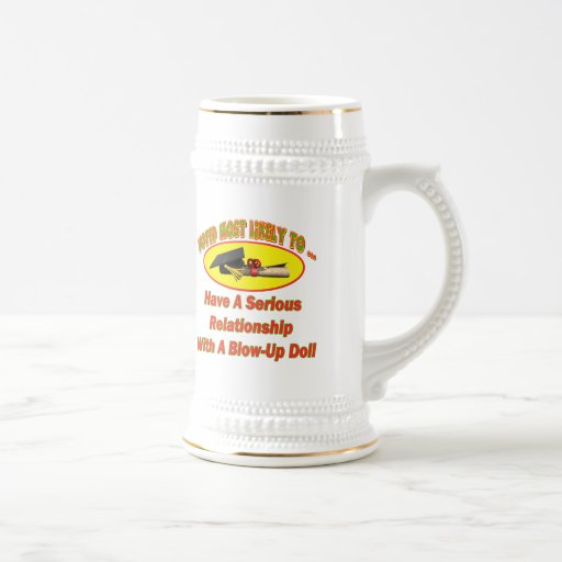 Blow-Up Doll Relationship Mugs