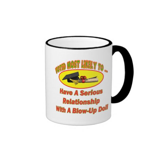 Blow-Up Doll Relationship Coffee Mugs