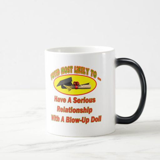 Blow-Up Doll Relationship Coffee Mug