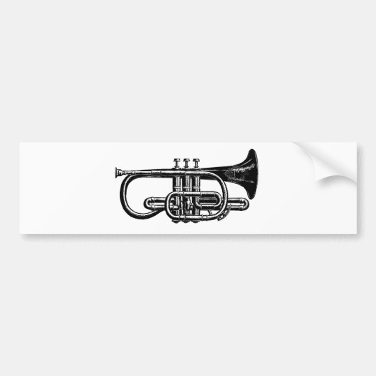 Blow your Horn: Imperial Cornet Musical Instrument Bumper