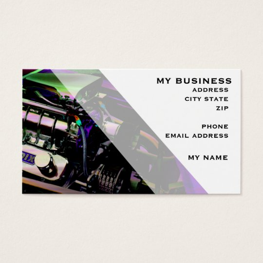 Blowers A-Go-Go Business Card