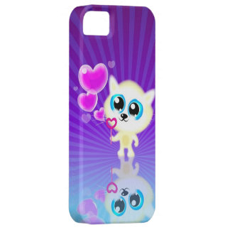 Blowing Bubble Hearts iPhone 5 Case