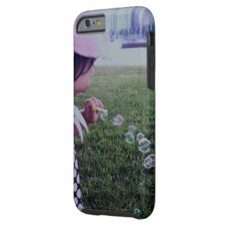 Blowing Bubbles by the Lakefront Tough iPhone 6 Case