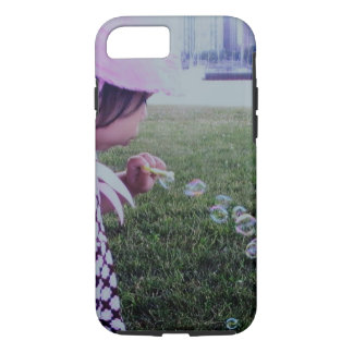 Blowing Bubbles by the Lakefront iPhone 7 Case