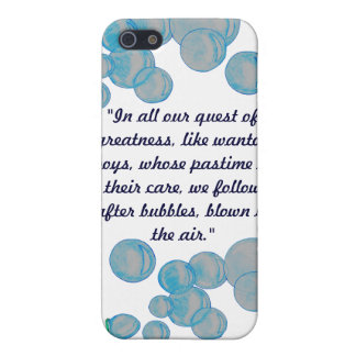 Blowing Bubbles iPhone 5/5S Cover