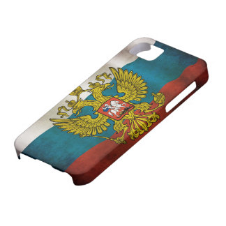 Blowing flag of Russia iPhone 5 Cover