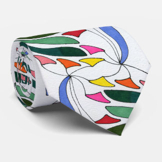 """Blowing in the Wind"" Abstract Design Tie"