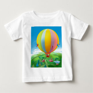 Blowing In The Wind Baby T-Shirt