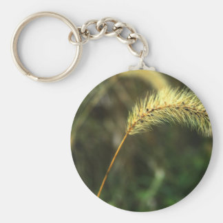 Blowing In The Wind Basic Round Button Key Ring