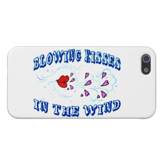 Blowing Kisses In The Wind iPhone 5 Cover