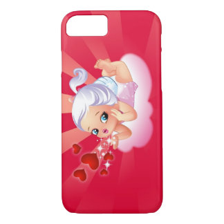 Blowing Kisses iPhone 7 case