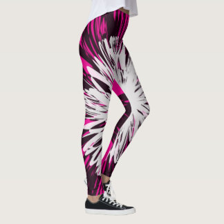 blown away in pink leggings