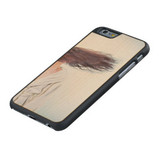 Blown away carved® maple iPhone 6 case