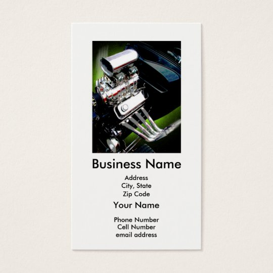 Blown Business Card