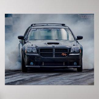 Blown Dodge Magnum Poster
