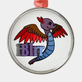 Blrr (with name) christmas ornament