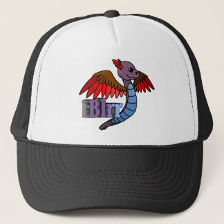 Blrr (with name) trucker hat
