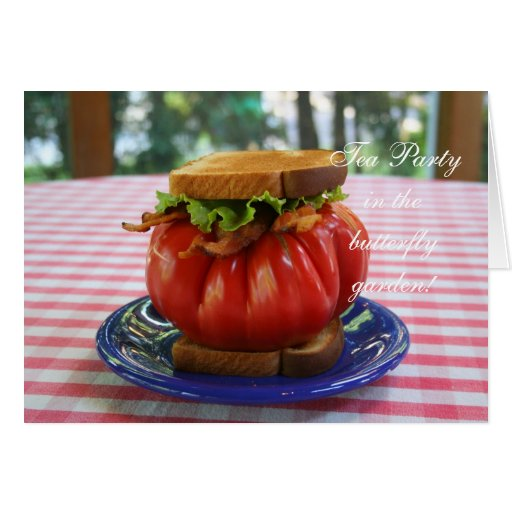 BLT with Giant Tomato Card