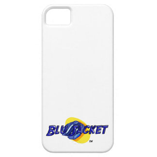 Blu Jacket Logo iPhone 5 Covers