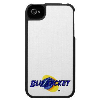 Blu Jacket Logo iPhone 4 Case