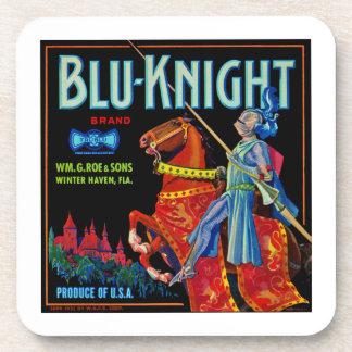 Blu Knight Fruit Label Coaster