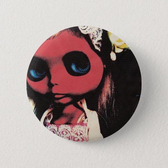 bludblythe 6 cm round badge