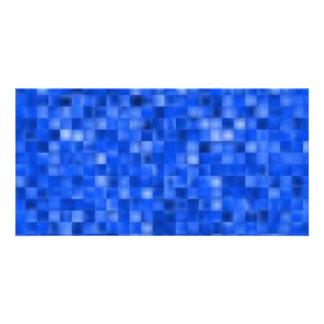 blue195 customised photo card