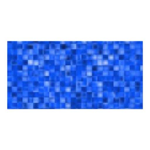 blue195 custom photo card
